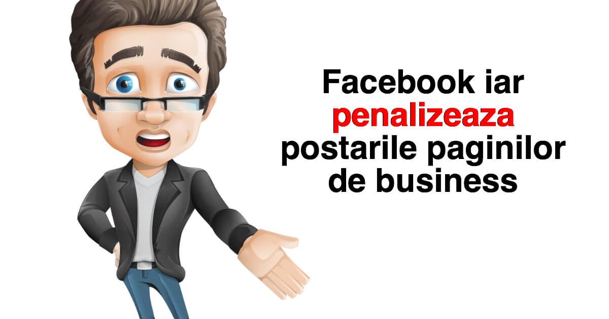 penalizeaza paginile de facebook