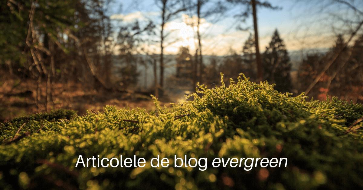 Articolele de blog evergreen
